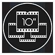 Pictogramme Pastilles Vidéos 10 secondes LMZ Prod